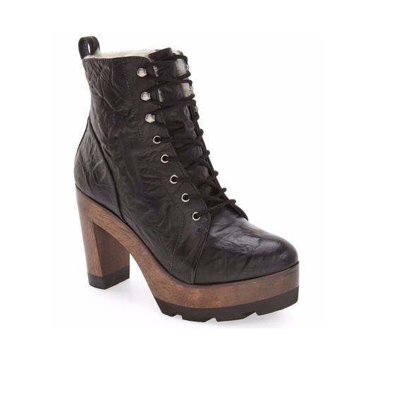 593b1491873be Kelsi Dagger Shoes   Brooklyn Farren Sheep Fur Lined Boot   Poshmark